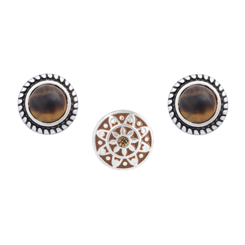 Brown Emblem Dot Set