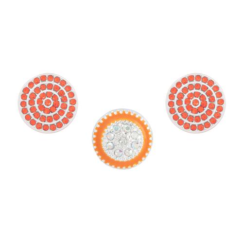 Orange Glimmer Dot Set