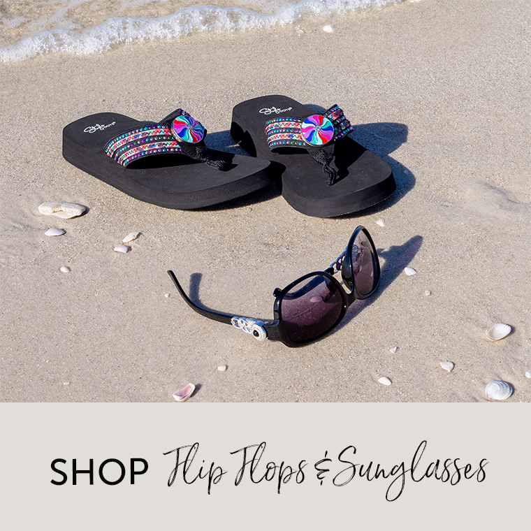 Shop Flip Flops and Sunglasses