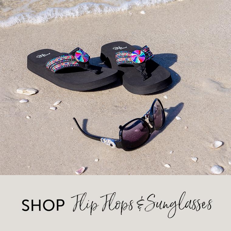Shop Flip Flops and Sunglasses